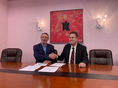 Moment of Memorandum Signature